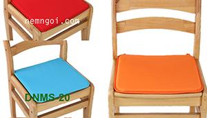 Đệm ngồi cho ghế gỗ